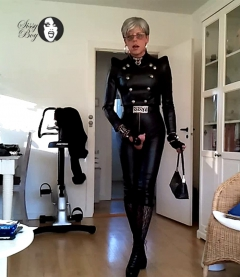 Sissy Tight Sexy Leather