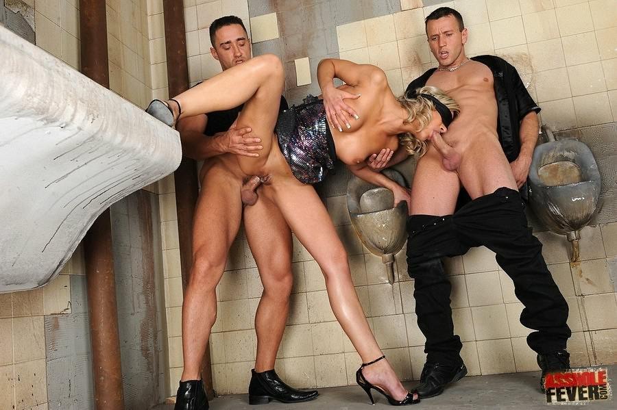 Мужской секс туалет