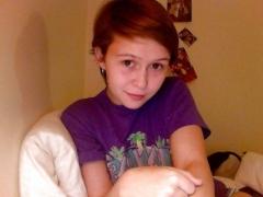 Pixie webcam teen naked selfies - redhead student nude web c - N