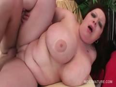 redhead-bbw-mature-pussy-banged-hard-from-behind