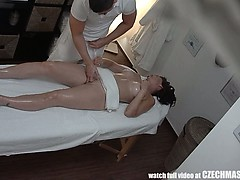 sexy milf gets penetrated during massage sexy