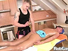 Brutal Anal Massage On Rubgay