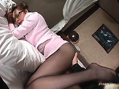 gorgeous-asian-milf-takes-off-his-pants-part2