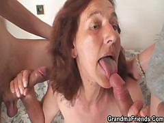 old-bitch-is-banged-by-two-young-painters