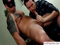 Hunky Stud Fucking A Fleshlight By Gotmasked