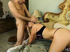 James Deen fucking hot blonde tramp