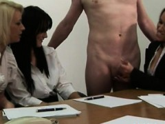 cfnm-office-whores-jerking-his-cock