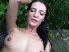 slim-brunette-amateur-fucks-outdoors