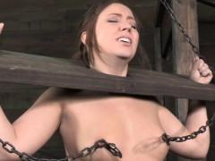 bdsm-hogtied-bondage-sub-nipple-punished