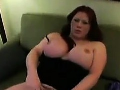 Fat Shemale Masturbating