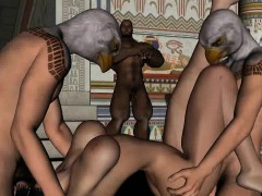 3d-redhead-double-teamed-by-two-guys-wearing-masks