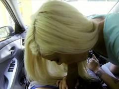 sweet blonde chick halle von fucking for cash