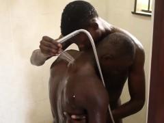 gay-african-amateur-sucks-dick-in-shower