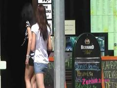 exhibitionist-teenager-in-a-public-pub