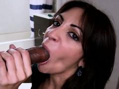 Jazmyn Latina big natural tits take some black dick