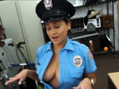Latina policewoman got tits and ass