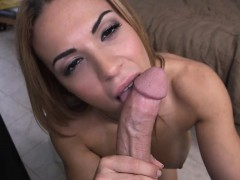 Horny Kylie Takes A Dick In Her Mouth