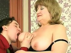 playing-with-her-mature-russian-boobs