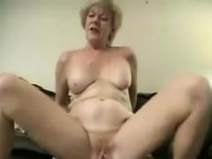 Granny Invites Him In For Some Kinky Fun