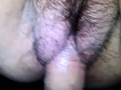 Hairy Russian Pussy Fucking Close Up