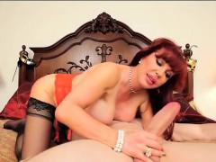 Sexy Vanessa Sucks The Cock of JMac POV Style