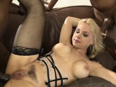Big tits Sarah Vandella all holes rammed