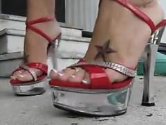 tattooed-milfs-sexy-feet-in-high-heels