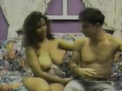 Chubby Latina With Big Breasts Banging