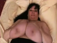 big-woman-plays-with-her-big-breasts