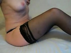 Amateur Mature Woman In Black Stockings