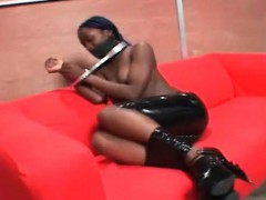 topless-ebony-gets-hands-tied-up-and-gagged