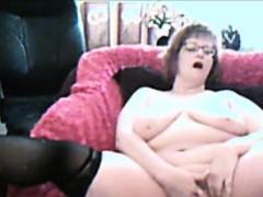 charming-granny-loves-fingering-pussy-on-webcam