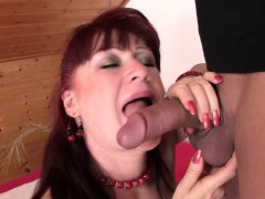 hot-girlfriends-mom-in-stockings-rides-his-cock