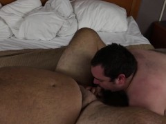 hairy-chubby-daddy-and-cub
