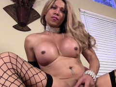 busty-shemale-tugging-her-tiny-cock-to-climax