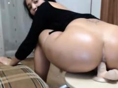 big-butt-milf-anal-dildo-riding-on-chair