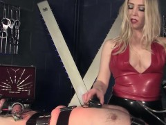 mistress-clamping-pathetic-sub
