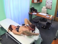 Doctor Makes Her Patient Pussy Wet