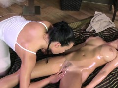 busty-massage-babe-fingered-by-lesbian