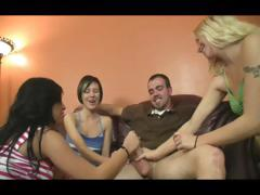 three-jerky-girls-brings-a-man-to-ecstasy