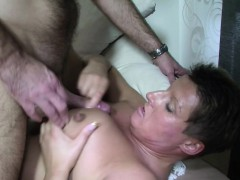 Horny German Grandpa Tempt Teenager to Fuck with Him
