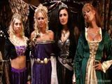 King and Queen Have A Medieval Orgy With Four Hot Whores