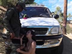 Sexy Latina Hottie Fucked By Nasty Border Patrol Agent