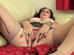 british-granny-zadi-fucks-herself-with-a-dildo