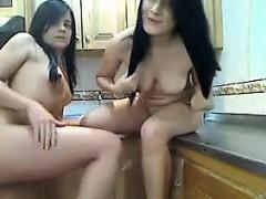 pretty-teen-lesbians-in-the-kitchen