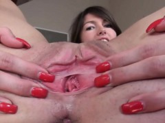 gyno-dildo-and-pussy-gapped-very-hard