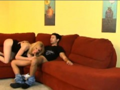 Sexy Big Ass Blonde Shemale Jesse Flores Fucked By Tranny