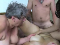 big old slut with a young dude