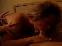 sexy blonde is in need with his rod