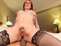 redhead-shemale-in-stockings-analized